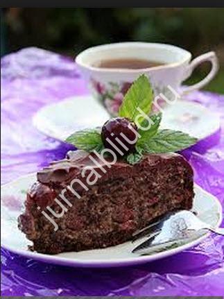 Торт Пьяная вишня рецепт с фото