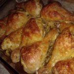 Куриные ножки с сыром из духовки