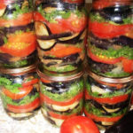 Баклажаны консервированные с помидорами