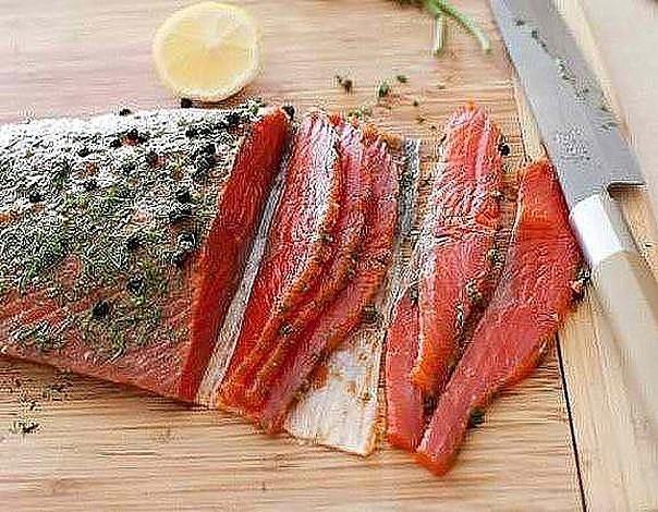 Приготовить красную рыбу быстро