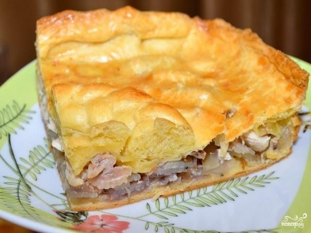 «Невесткин пирог» - Сытный ужин быстро и просто: отправила в духовку — через 30 минут готово!