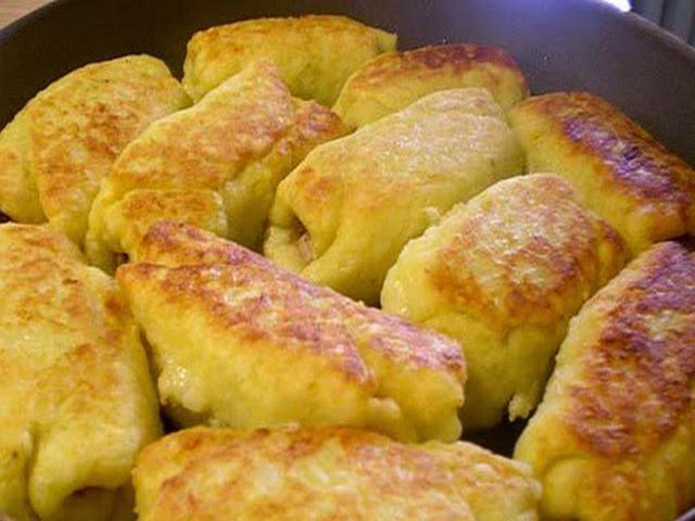 Картофельные рулетики