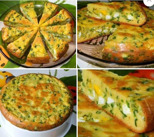 Как сделать пирог с яйцом и луком рецепт с фото в духовке на дрожжах
