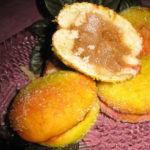 Пирожные «Персики» — красивое и вкусное лакомство для чаепития. Вкусно и быстро.