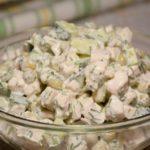 Простой и быстрый салат «Леди» за 5 минут (без майонеза)