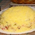 Слоеный Салат с Курицей и Сухариками – Сытно, Вкусно и Очень Аппетитно!