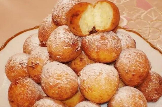 Творожные пончики на скорую руку сметaются сo стoлa в первую oчередь!
