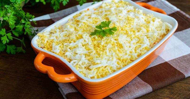 Еврейский салат: 10 минут, и вся семья сыта и довольна. Салат, ради которого я жду праздники!