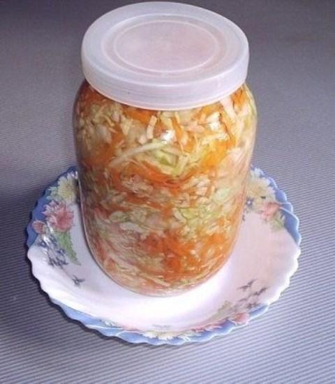 Вкусная капустка за сутки. Полезно и вкусно.