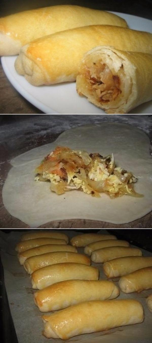 Супер-пирожки с капустой просто сказка!