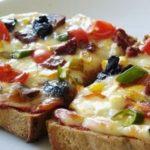 Пицца на хлебе – необычный рецепт самого популярного в мире блюда!