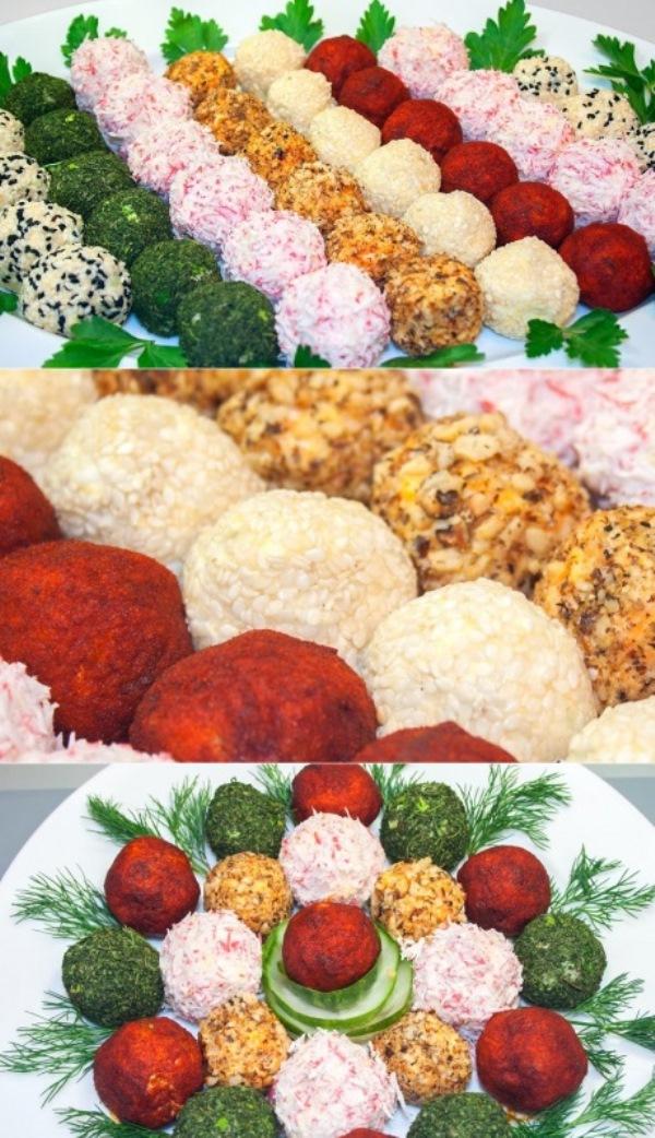 Порционные салатные шарики из свеклы и моркови: дешевле не бывает, улетают со стола. Яркий вкус для любого праздника.