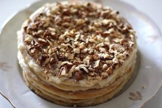 Торт на сковороде за полчаса: ГОТОВИТСЯ БЫСТРО, А РЕЗУЛЬТАТ ВСЕГДА РАДУЕТ!