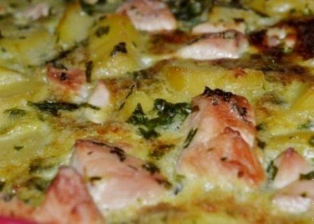Обалденная картофельная запеканка с курицей по маминому рецепту. Это что-то! Нереальная вкусняшка!