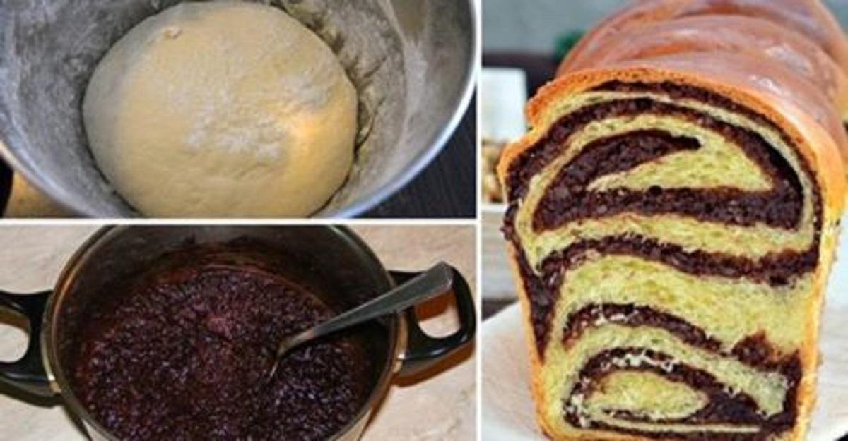 Это чудо а не выпечка! Изумительная плетенка с орехами и какао – больше чем обычный рецепт! Плетенка получается очень нежной, воздушной и неповторимо ароматной!