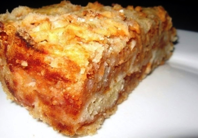 Насыпной пирог с яблоками - ЧУДО ПИРОГ! ОБЪЕДЕНИЕ!!! ПРОЩЕ ПРОСТОГО!