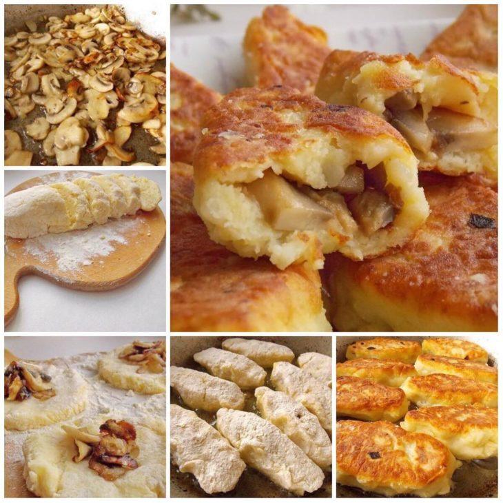 Тетя из Киева меня научила их готовить: вкуснейшие зразы с грибами
