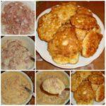 Мясные оладьи, которые я готовлю уже много лет вместо пирожков