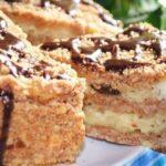 Пирог с творогом и черносливом. Стоит попробовать!