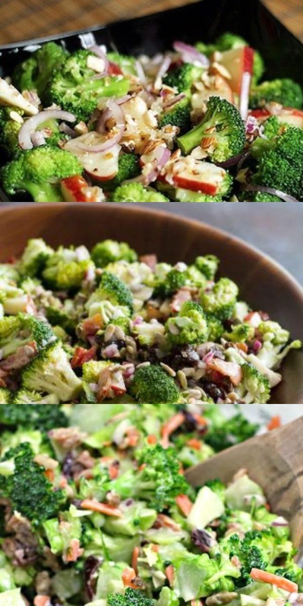 Новый и очень вкусный салат из капусты брокколи – нет ничего вкуснее в мире!