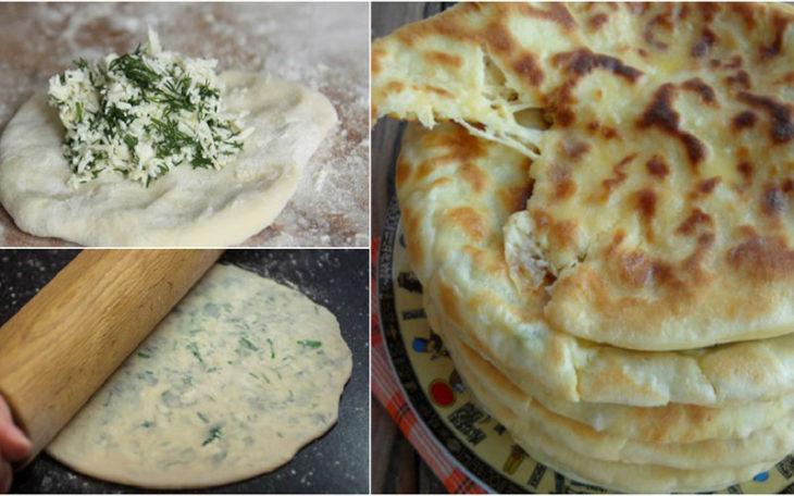 Божественные хычины с сыром и зеленью - вкуснотище