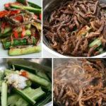 Я храню этот рецепт уже много лет — огурцы с мясом по-китайски!