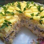 Торт-салат «Чудо-слойка» - салат года