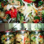 Хочу поделиться рецептом вкусной домашней закуски с овощей — закуска с баклажанами на зиму