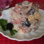 """салат """"Праздничный"""" фото"""