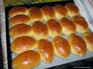 Пирожки с капустой фото