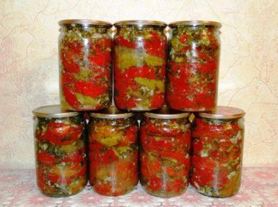 Как приготовить перец пикантный по-грузински