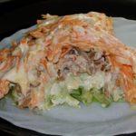 Новый салат «Мужской каприз»