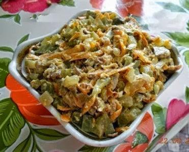 salat objorka
