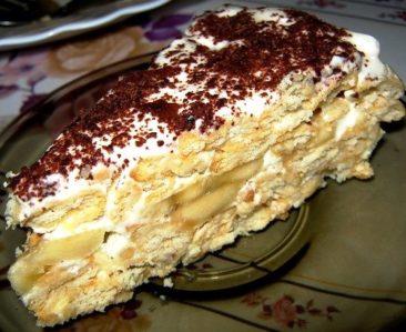 tort iz krekerov s bananom foto11