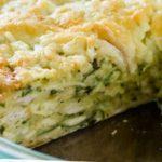 Оригинальный пирог из лаваша с курицей и сыром