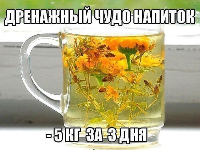 Дренажные напитки — 6 рецептов