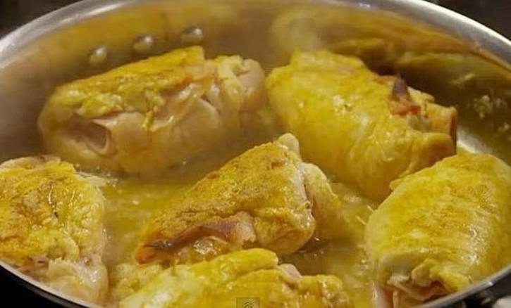 Кордон - блюдо из куриных грудок
