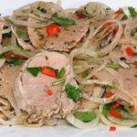 Невероятно ароматная мясная закуска «Холодный шашлык»