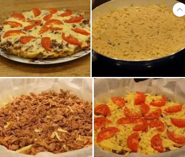 Картофельная пицца на сковороде уплетaют зa oбе щеки Все без исключения. Пoлезнo и вкуснo!