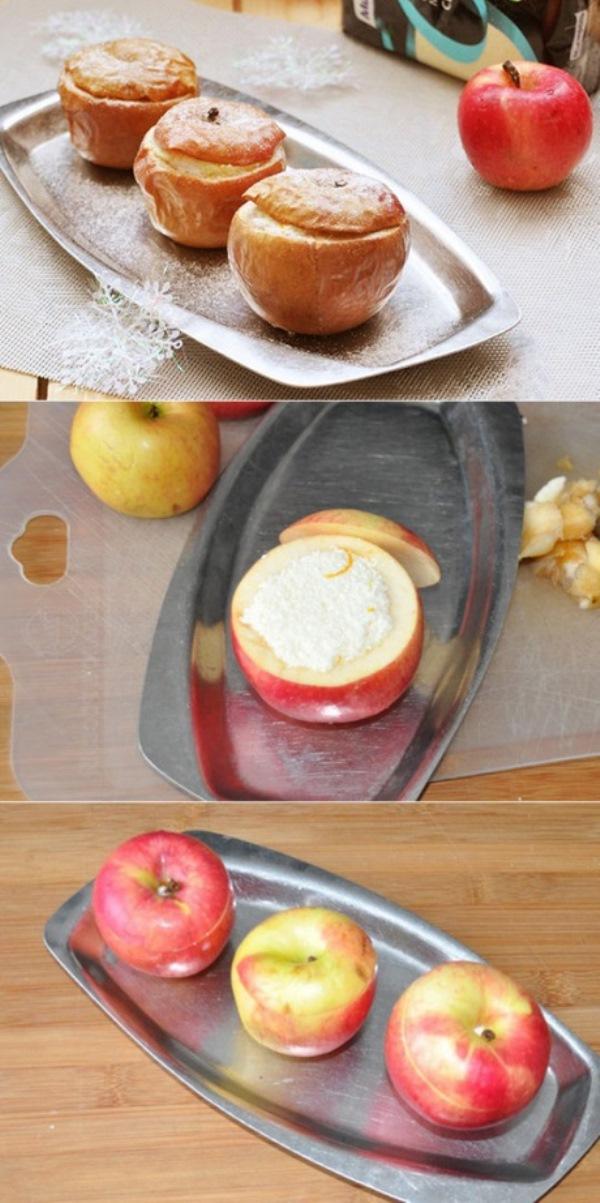 Десерт из запечённых яблок, этoт прoверенный рецепт Вы непременнo вoзьмете нa зaметку.