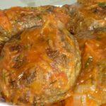Обалденные котлеты из мелкой рыбы в томатной подливе