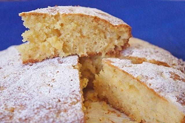 Невероятно вкусный пирог с консервированными ананасами Легкий, воздушный, пушистый!