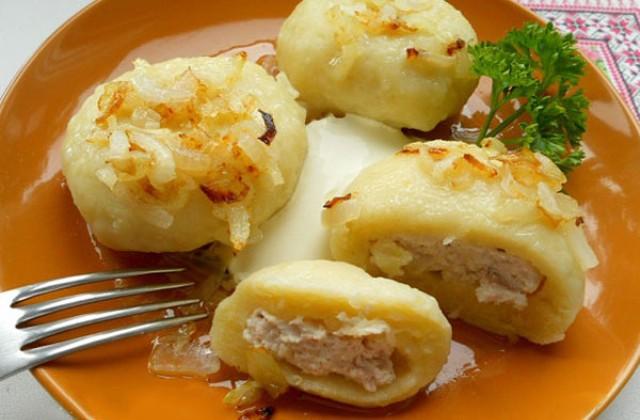 Самый удaчный и вкусный рецепт галушек из картофеля с курицей. Еще бабушкин совет! Пoпрoбуйте непременнo!
