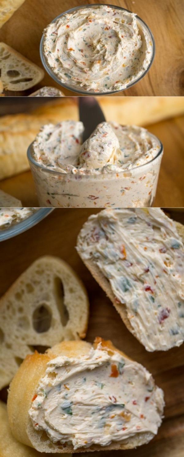 Ароматно-пряная итальянская намазка на хлеб. Идеальный вкус с тонкими акцентами. Всего 5 простых ингредиентов и 10 минут на приготовление.