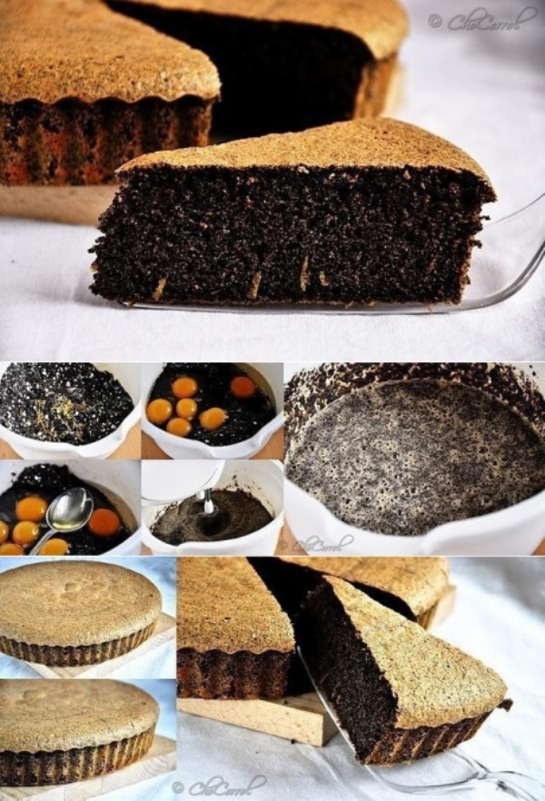Маковый пирог без муки! Этот рецепт станет для Вас номер один!