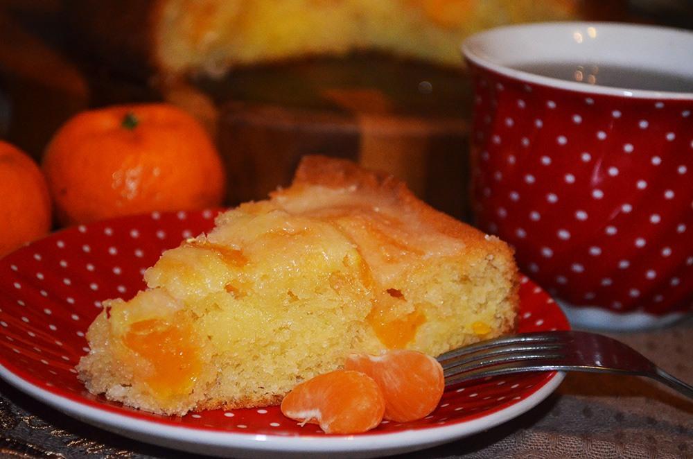Мандариновый пирог. Фирменный рецепт свекрови. Волшебная выпечка получится даже у новичков.