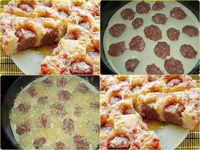 Самый вкусный пирог с фрикадельками. Этим рецептом пользуюсь много лет. Все подруги выпросили. Получается ВСЕГДА восхитительная выпека.