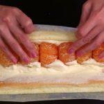 Вкусный рулет с мандаринами: БЫСТРЕЕ НЕ БЫВАЕТ. Попробовав - будете готовить только так!
