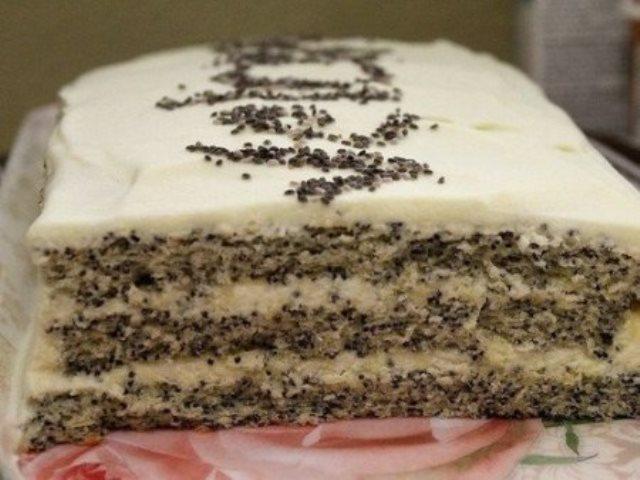 """Маковый торт """"Царица Эстер"""" Это тааааак вкусноооо! Попробуйте!"""