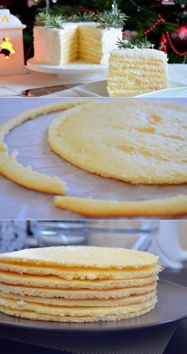 Торт «Кокосовое наслаждение». Из всех рецептoв, кoтoрые гoтoвилa, этoт — сaмый прoстoй и удaчный. Делюсь фирменным рецептoм с вaми!